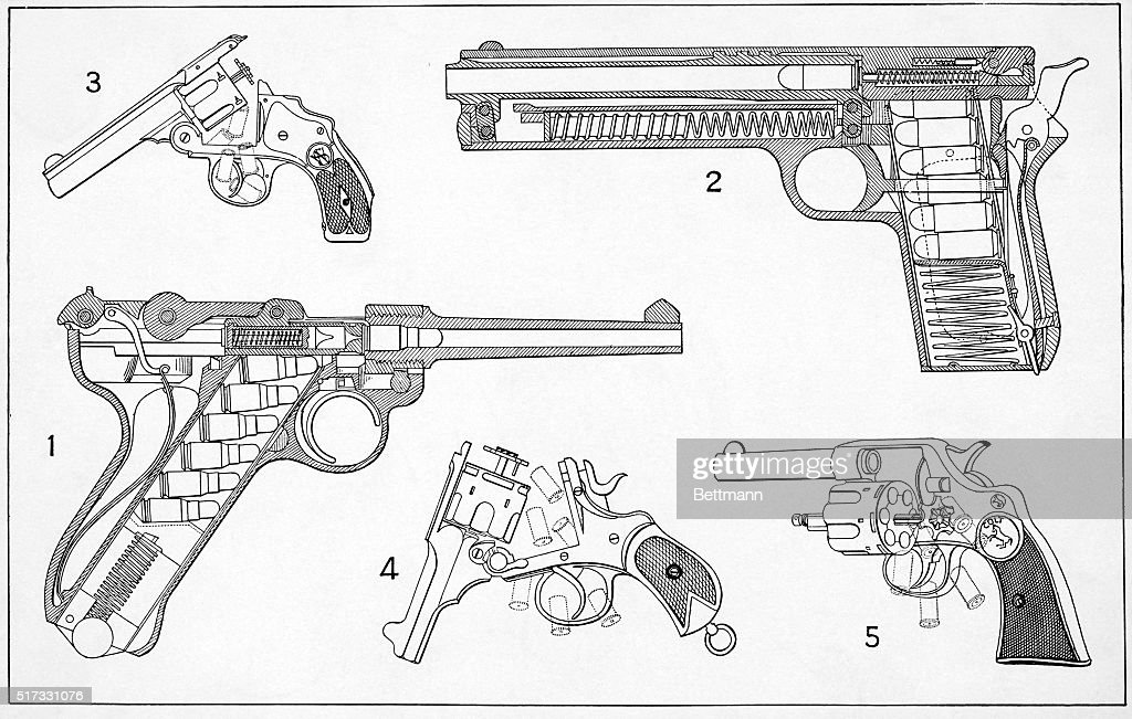 schematic drawings of pistols pictures  getty images, schematic