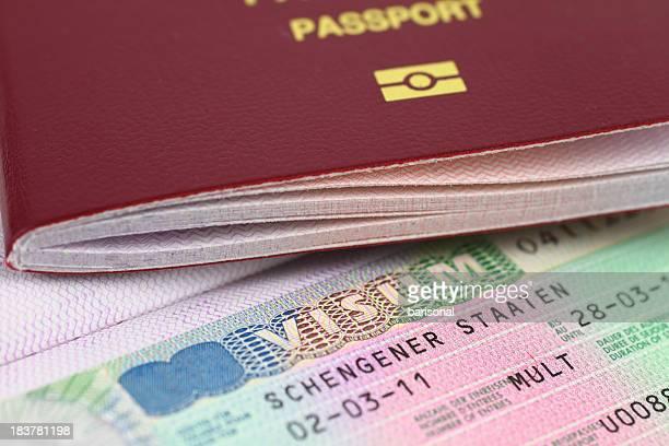 Schengen visto e passaporto