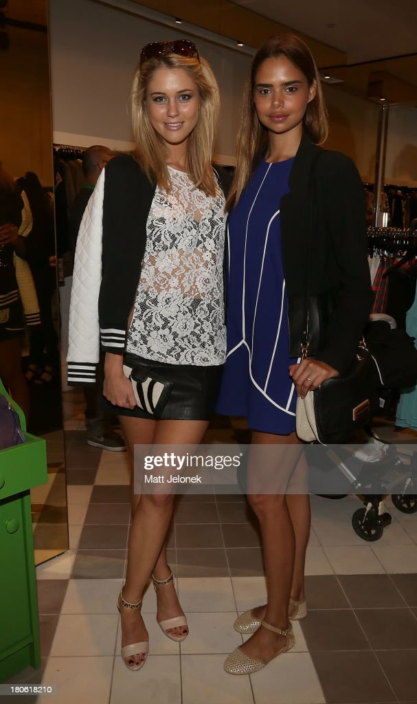 <a gi-track='captionPersonalityLinkClicked' href=/galleries/search?phrase=Scherri-Lee+Biggs&family=editorial&specificpeople=7921585 ng-click='$event.stopPropagation()'>Scherri-Lee Biggs</a> and Samantha Harris attend the launch of Cameron Silver's book 'Decades: A Century of Fashion' during Perth Fashion Festival on September 15, 2013 in Perth, Australia.