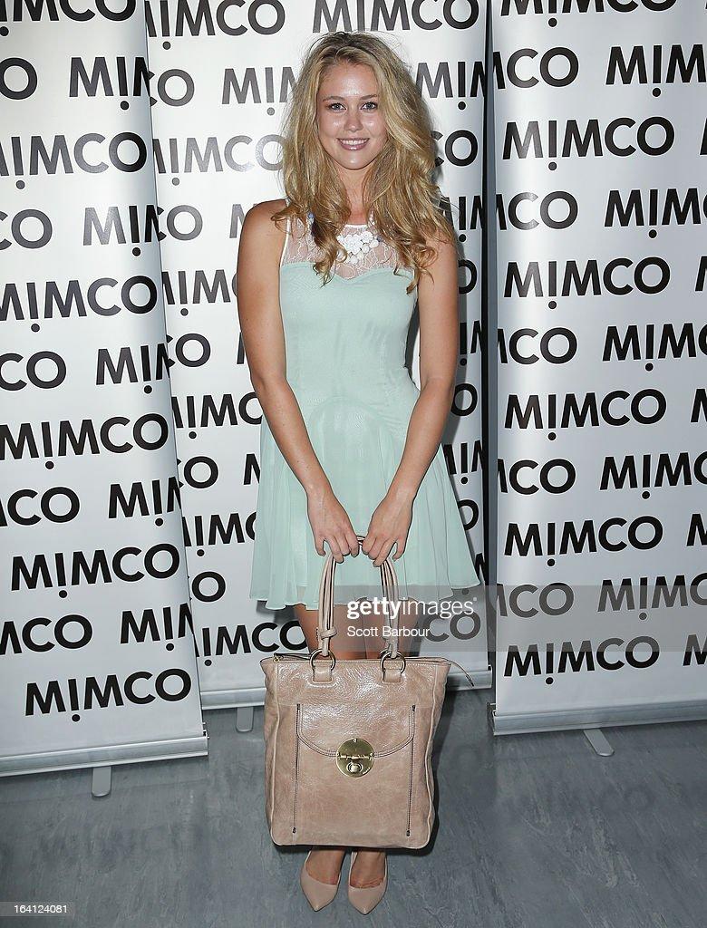 Scherri-Lee Biggs attends the MIMCO show during L'Oreal Melbourne Fashion Festival on March 20, 2013 in Melbourne, Australia.
