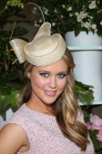 ScherriLee Biggs attends the Myer marquee at the Melbourne Cup at Flemington Racecourse on November 6 2012 in Melbourne Australia
