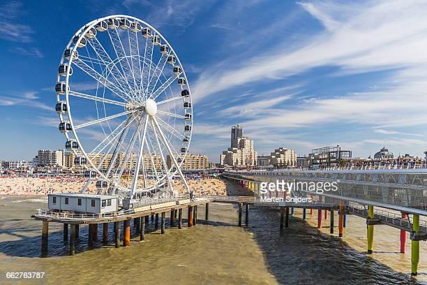 Scheveningen Pier ferris wheel