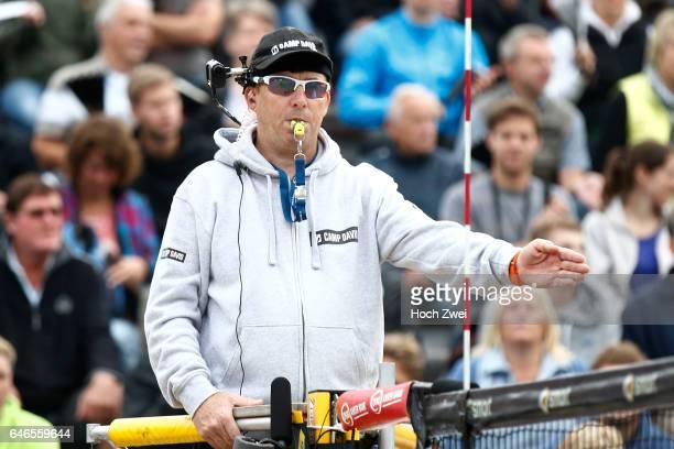 Schiedsrichter mit Kopfkamera