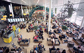 Schiphol Airport departure lounge, Amsterdam