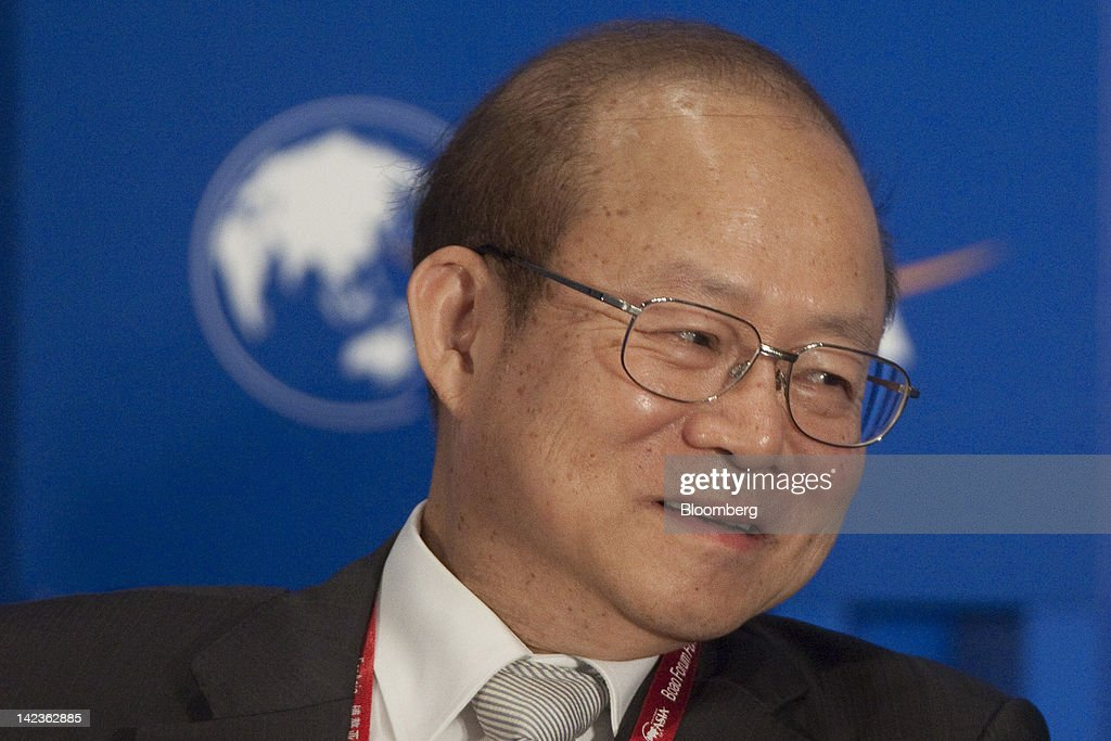 Schive Chi, chairman of the Taiwan Stock Exchange Corp., attends a session at the Boao Forum for Asia in Boao, Hainan Province, China, on Tuesday, April 3, 2012. The Boao Forum ends today. Photographer: Nelson Ching/Bloomberg via Getty Images