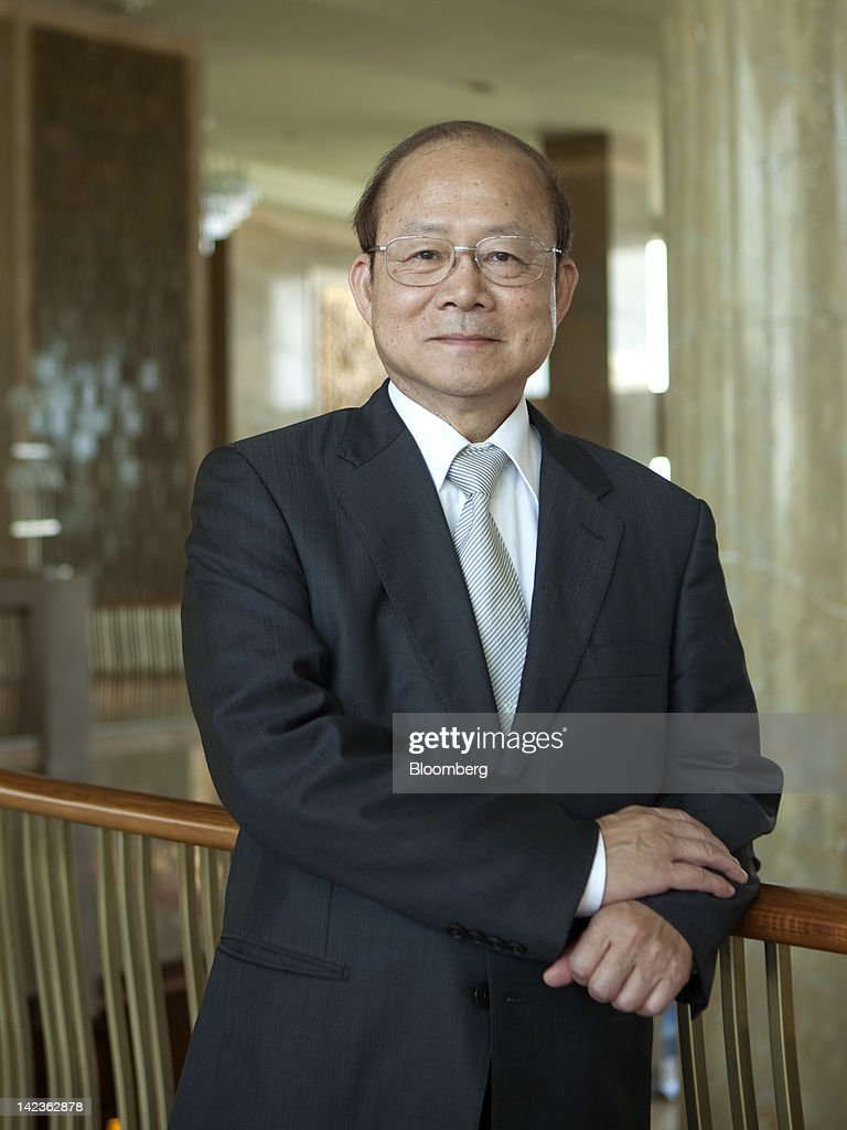 Schive Chi, chairman of the Taiwan Stock Exchange Corp., poses for a portrait at the Boao Forum for Asia in Boao, Hainan Province, China, on Tuesday, April 3, 2012. The Boao Forum ends today. Photographer: Nelson Ching/Bloomberg via Getty Images