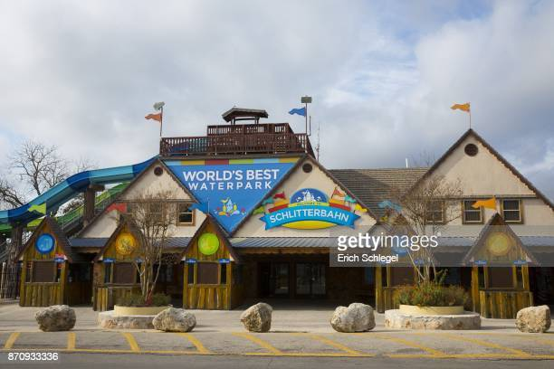 Schlitterbahn Waterpark and Resort where Devin Patrick Kelley worked is seen November 6 2017 in New Braunfels Texas Kelley was the alledged gunman...