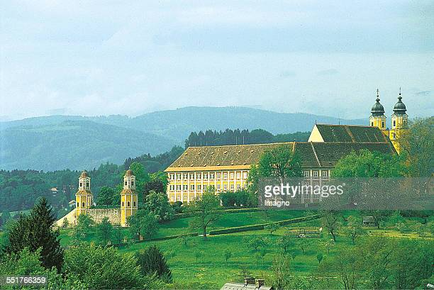 Schloss Stainz is a former monastery of the Augustinian Canons in Stainz in Styria Austria Today the Baroque complex belongs to the Counts of Meran...