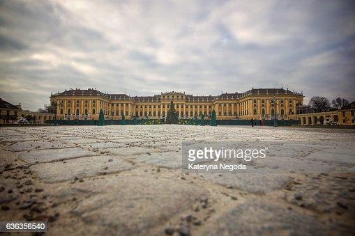 Schönbrunn Palace, Vienna, Austria : ストックフォト
