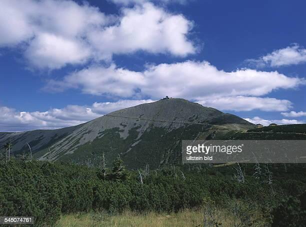 Schneekoppe im Riesengebirge 2000