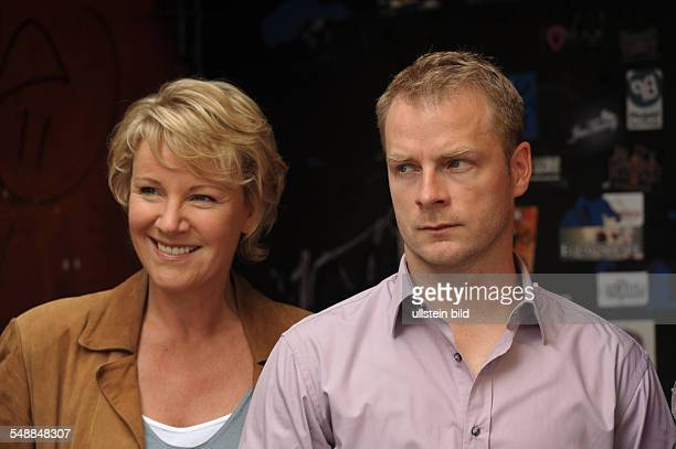 Schoenemann Hinnerk Actor Germany with Actress Mariele Millowitsch