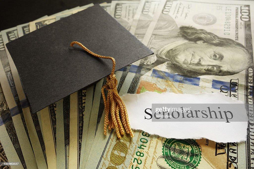 Scholarship note : Stock Photo