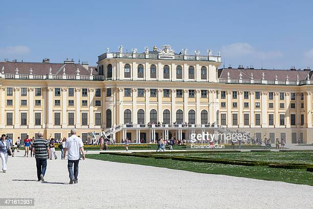 Schonbrunn Palace in April