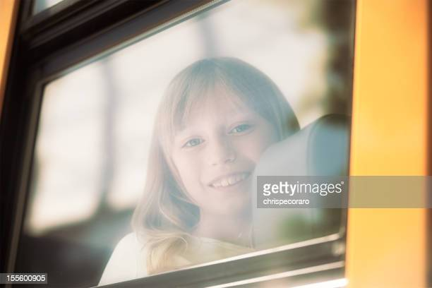 School Bus Portrait