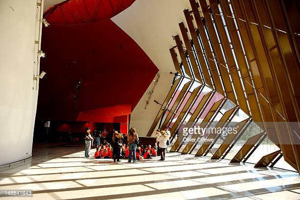 School children at National Museum of Australia.