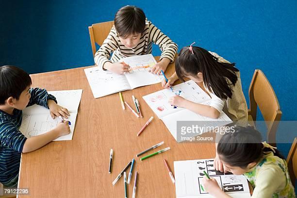 学生のカラーリング
