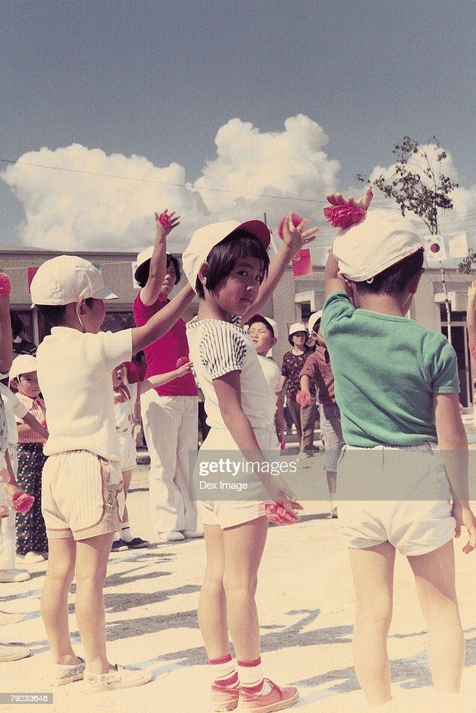 School children in school : Stock Photo