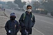 IND: Cold Wave Hit New Delhi