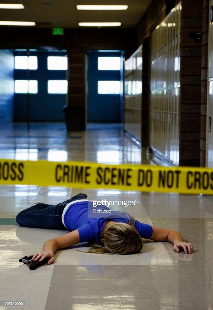School Crime Scene