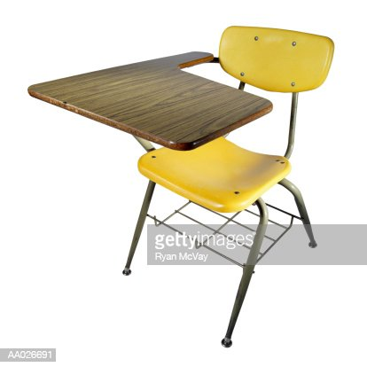 School Desk : Stock-Foto