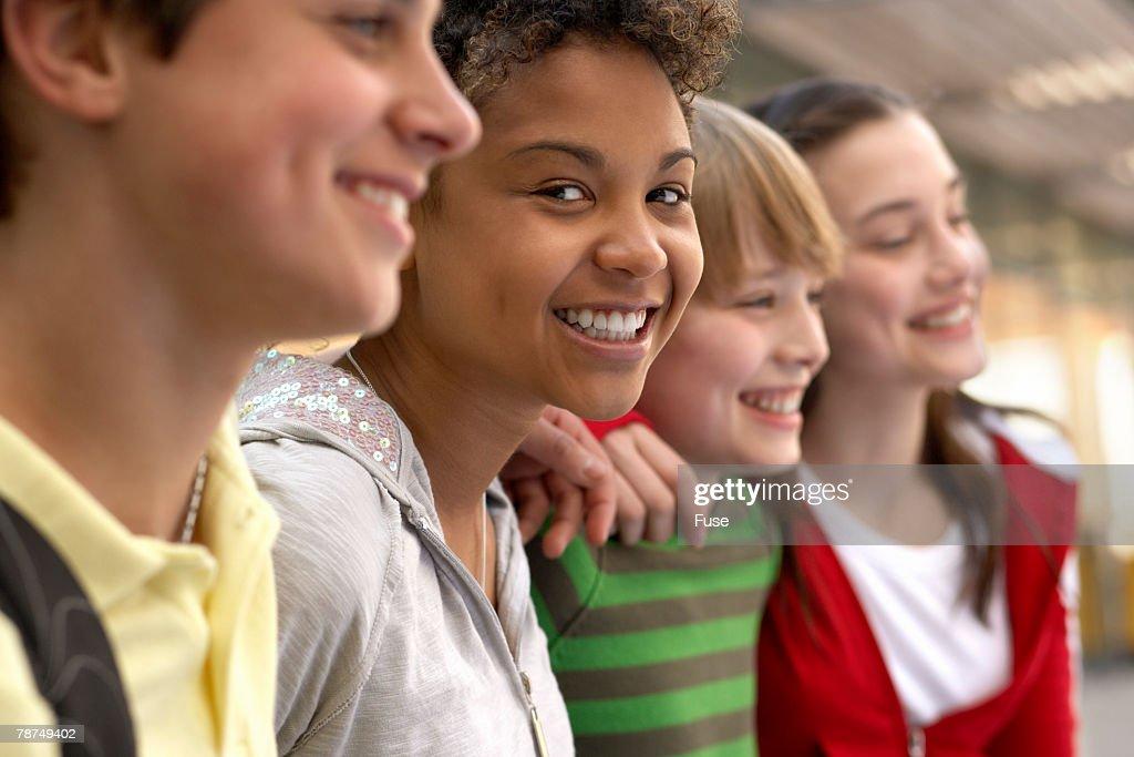 School Friends : Stock-Foto