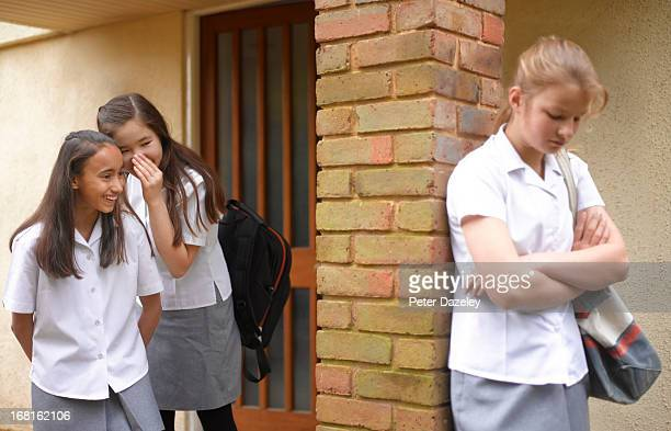 School girls bullying