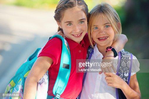 college girls sisters longhair