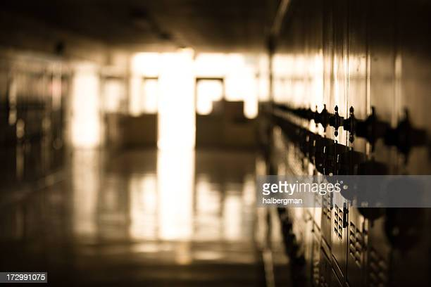 School Hallway (Shallow DOF)