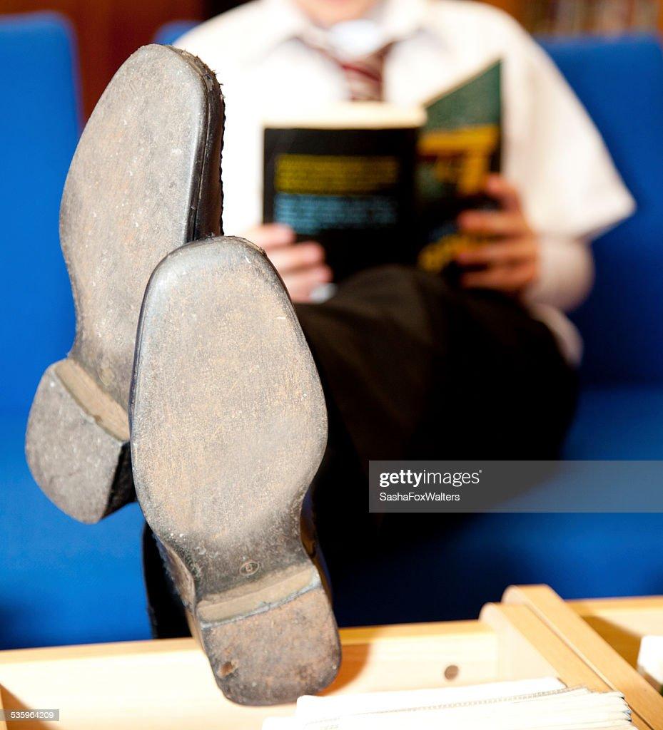 school library : Stock Photo