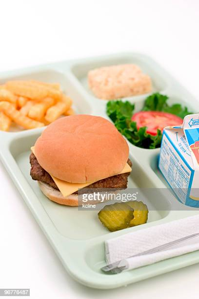 School Lunch - Cheeseburger