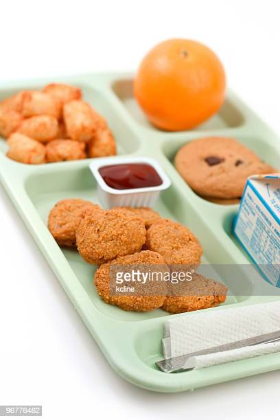 School Lunch - Chicken Nuggets