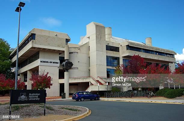 ANU School of Music building Australian National University William Herbert Place Acton Canberra Australian Capital Territory Australia 11 April 2015