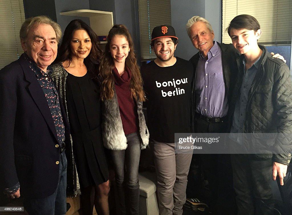 Celebrities Visit Broadway - November 29, 2015