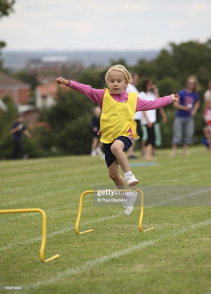 School Sports Day : Stock Photo
