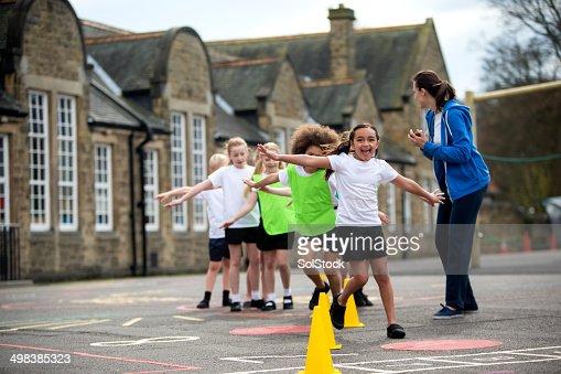 Scuola sport lezione