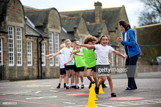 School Sports Lesson