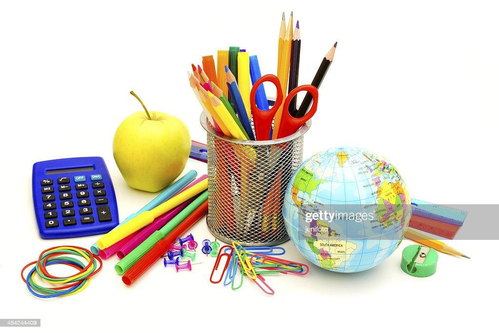 School supplies : Stock Photo