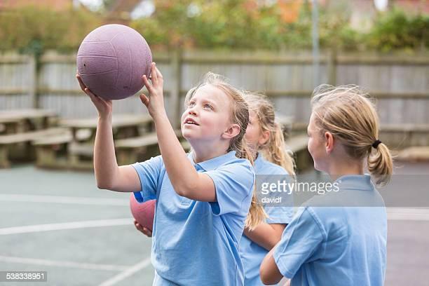 Cour de récréation Netball Sport filles