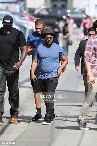 ScHoolboy Q is seen on April 14 2016 in Los Angeles CA