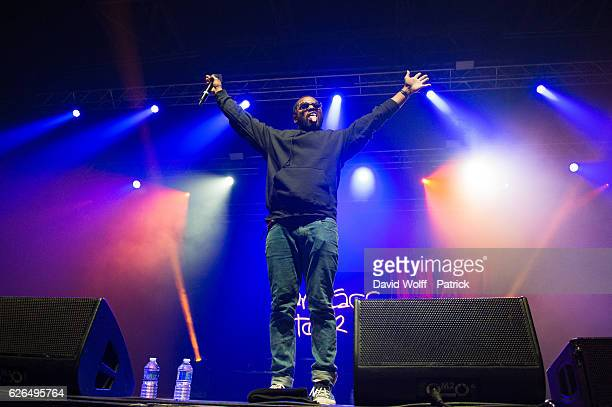 Schoolboy Q performs at Zenith de Paris on November 29 2016 in Paris France