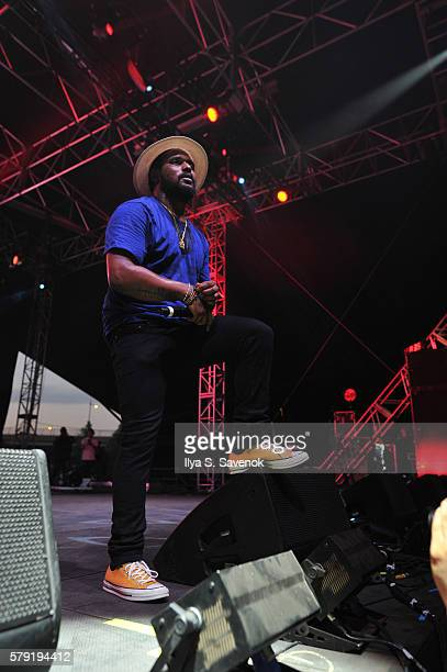 Schoolboy Q performs during 2016 Panorama NYC Day 1 at Randall's Island on July 22 2016 in New York City