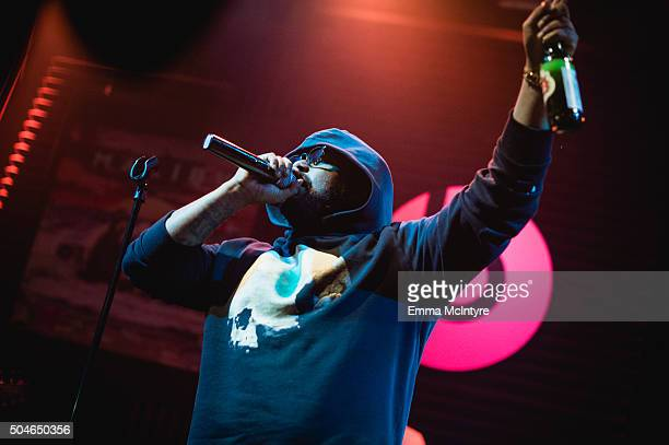 Schoolboy Q performs live at The Sayers Club on January 11 2016 in Hollywood California