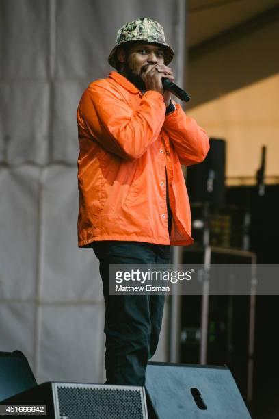 Schoolboy Q performs live on stage at Secret Solstice Music Festival 2014 on June 22 2014 in Reykjavik Iceland
