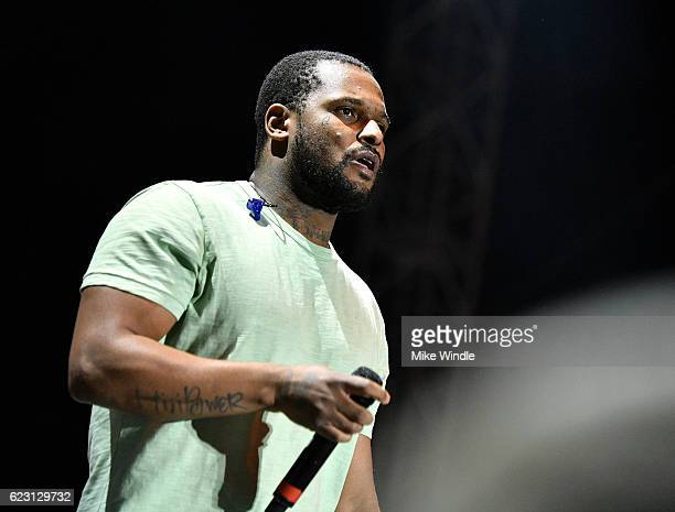 ScHoolboy Q performs on Camp Stage during day two of Tyler the Creator's 5th Annual Camp Flog Gnaw Carnival at Exposition Park on November 13 2016 in...