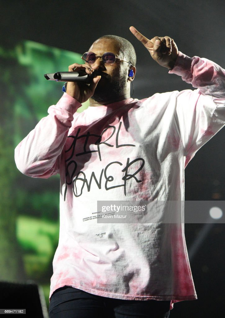 ScHoolboy Q performs on the Coachella Stage during day 2 of the Coachella Valley Music And Arts Festival (Weekend 1) at the Empire Polo Club on April 15, 2017 in Indio, California.
