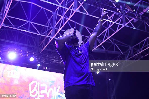 Schoolboy Q performs onstage at the 2016 Panorama NYC Festival Day 1 at Randall's Island on July 22 2016 in New York City