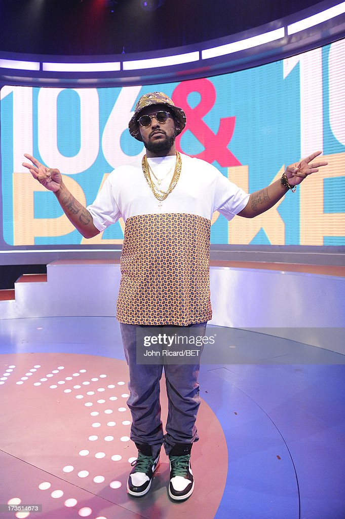 <a gi-track='captionPersonalityLinkClicked' href=/galleries/search?phrase=Schoolboy+Q&family=editorial&specificpeople=9028279 ng-click='$event.stopPropagation()'>Schoolboy Q</a> visits BET's 106 & Park at BET Studios on July 15, 2013 in New York City.