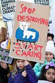 GBR: Schoolchildren Across The UK Go On Climate Strike