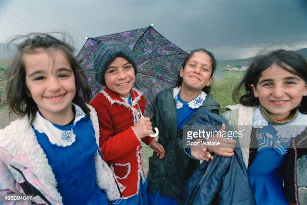 Schoolgirls in Hasankeyf in southeastern Turkey 2004