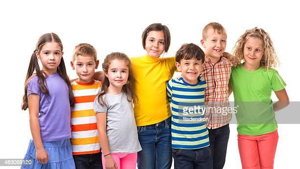 Schoolmate collective hug
